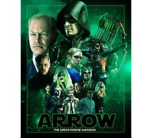 THE GREEN ARROW AWAKENS Photographic Print