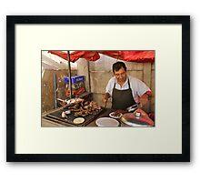 Street Taquitos  Framed Print