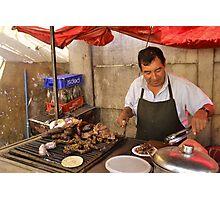 Street Taquitos  Photographic Print