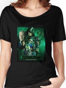 THE GREEN ARROW AWAKENS Women's Relaxed Fit T-Shirt