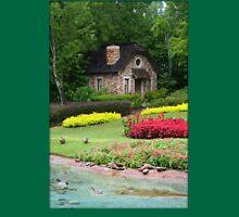 English Style Cottage With Pond In Orlando Florida Unisex T-Shirt