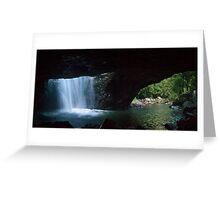 Natural Bridge, Springbrook National Park, Qld, Australia Greeting Card