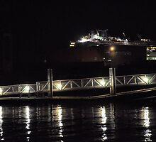 Marina Lights by Bob Wall