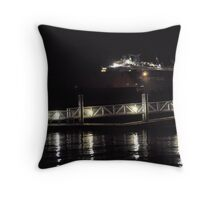Marina Lights Throw Pillow