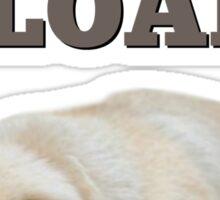 Pug Loaf Sticker