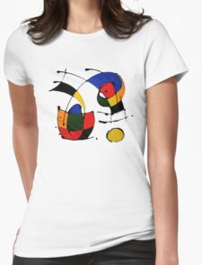 Joan Miró Womens Fitted T-Shirt