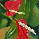Flower Hearts by Graeme  Stevenson