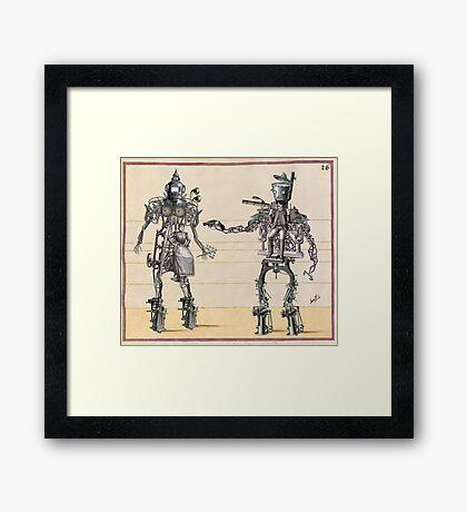 Edwardian Automas Framed Print