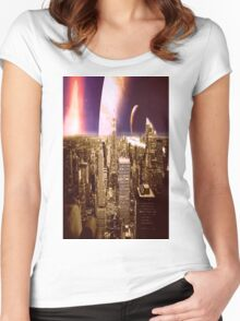 New New York Women's Fitted Scoop T-Shirt