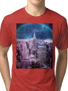Another World Another City  Tri-blend T-Shirt