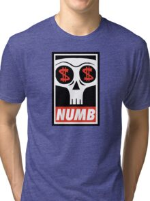 Obey the Numb$kull Tri-blend T-Shirt