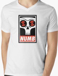 Obey the Numb$kull Mens V-Neck T-Shirt