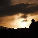 Lerwick in winter sun by NordicBlackbird