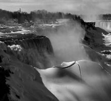 Frozen Niagara by Shari Galiardi