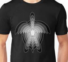 Greyscale Turtle Unisex T-Shirt