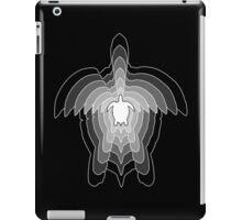 Greyscale Turtle iPad Case/Skin
