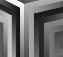 SuperCollider giant cube shirt Sticker