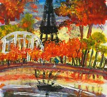 Thoughts of an Autumn Morn in Paris by Alison Pearce