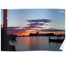 Industrial Harbour Poster