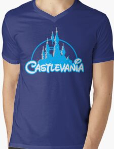 Castlevania Mens V-Neck T-Shirt