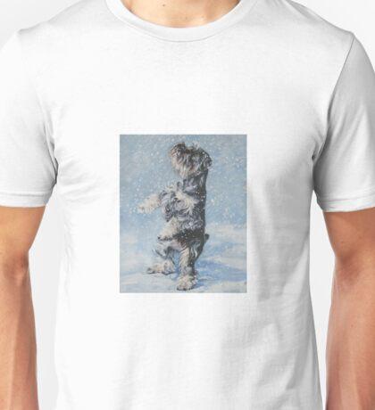 Schnauzer Fine Art Painting Unisex T-Shirt