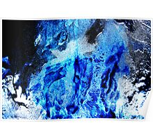 Ice Abstract II Poster