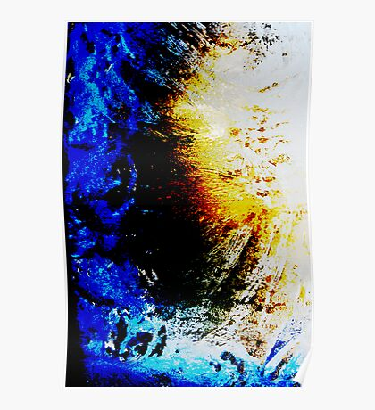 Ice Abstract V Poster