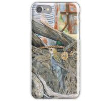 Bird on a Net iPhone Case/Skin