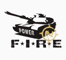 Army Tank Fire Power by rott515