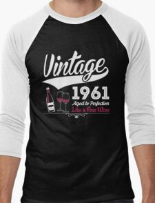Vintage 1961 Aged To Perfection Like A Fine Wine T-Shirt