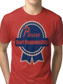 PBR Tri-blend T-Shirt