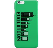 Cell Phone Evolution iPhone Case/Skin