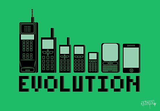 Cell Phone Evolution by weRsNs
