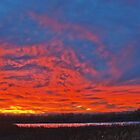 Sky aglow by Forrest  Ray