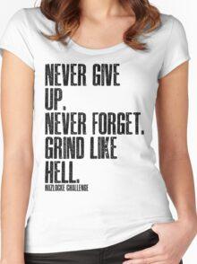 Nuzlocke Challenge! Women's Fitted Scoop T-Shirt