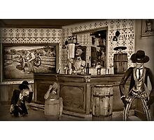 "☜ ☝ ☞ ☟ SALOON ""THE FIGHTING SIDE OF ME"" ☜ ☝ ☞ ☟  Photographic Print"