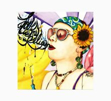 Love Is My Religion ~ Katey Sunflower ~ Friendship Painting Womens Fitted T-Shirt