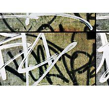 graffitiSectional Photographic Print