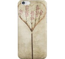 Lavender Hearts iPhone Case/Skin