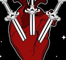 Three of Swords Sticker
