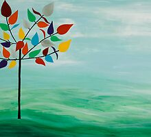Rainbow Tree by energymagic