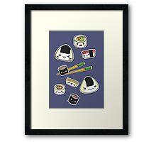 Mix Sushi Framed Print