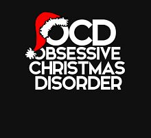 OCD Obsessive Christmas Disorder Women's Fitted Scoop T-Shirt