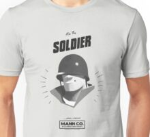 I'M THE SOLDIER - Team Fortress 2 Unisex T-Shirt