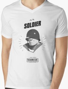I'M THE SOLDIER - Team Fortress 2 Mens V-Neck T-Shirt