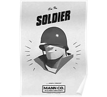 I'M THE SOLDIER - Team Fortress 2 Poster
