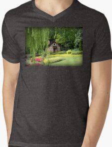 Lovely English Style Cottage In Orlando Florida Mens V-Neck T-Shirt