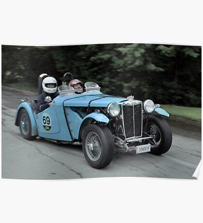 MG TC 1949 Poster