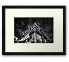 Cloud Central Headquarters Framed Print