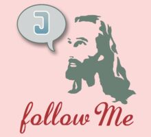 """Follow Me"" Christian T-Shirt Kids Clothes"
